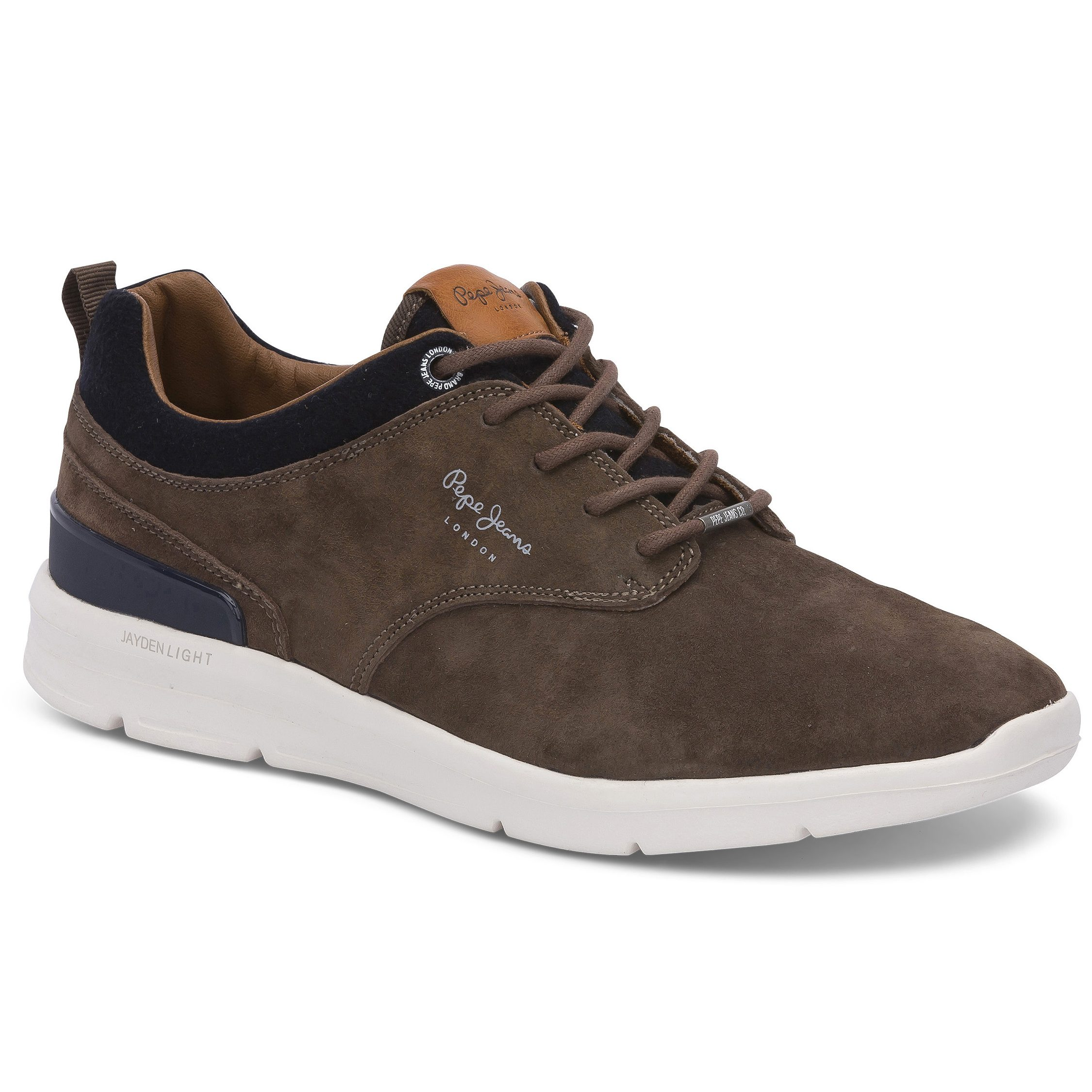 Pepe Jeans – JAYDEN SUEDE Ανδρικό Καφέ. Pepe Jeans 0246fc40229