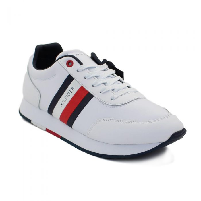 Tommy Hilfiger - CORPORATE LEATHER FLAG RUNNER / FM0FM02651 YBS 2