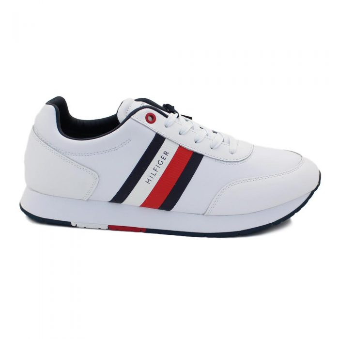 Tommy Hilfiger - CORPORATE LEATHER FLAG RUNNER / FM0FM02651 YBS 1