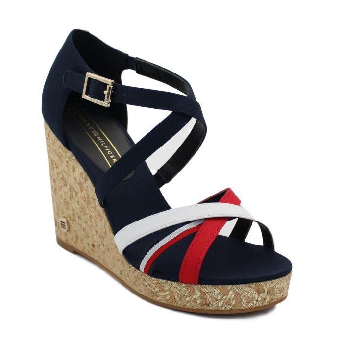 Tommy Hilfiger - CORPORATE DETAIL HIGH WEDGE / FW0FW04613 DW5 2