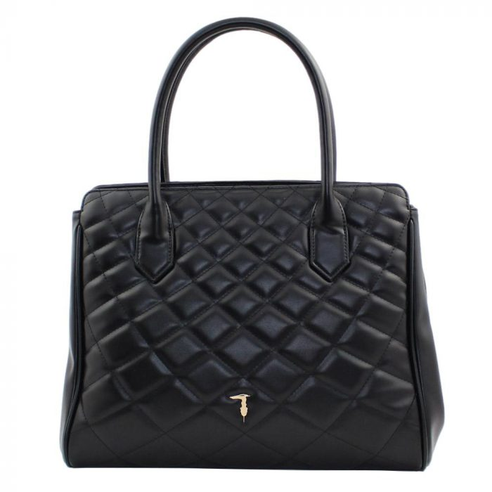 Trussardi - Daisy Tote MD Smooth PU Quilting - 75B01179 1